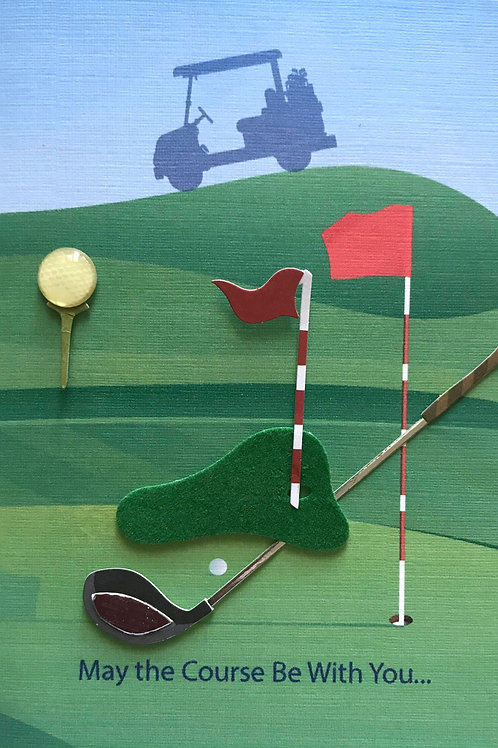 Golf Note Card Set-NC84