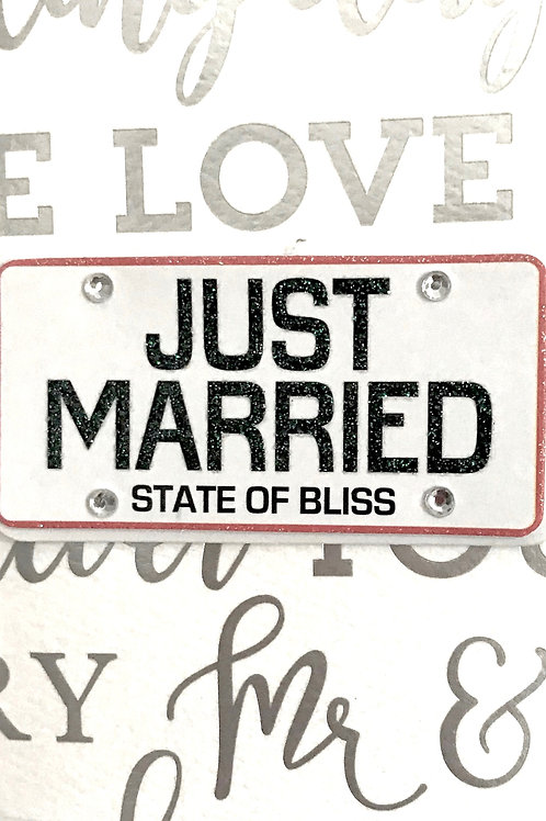 Just Married Gift Card 101A/21