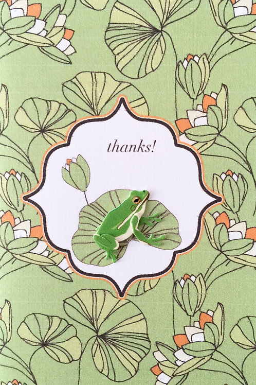 Frog Thanks Asst Note Card Set-NC14