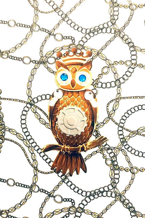 Steampunk Owls Asst Note Card Set-NC73