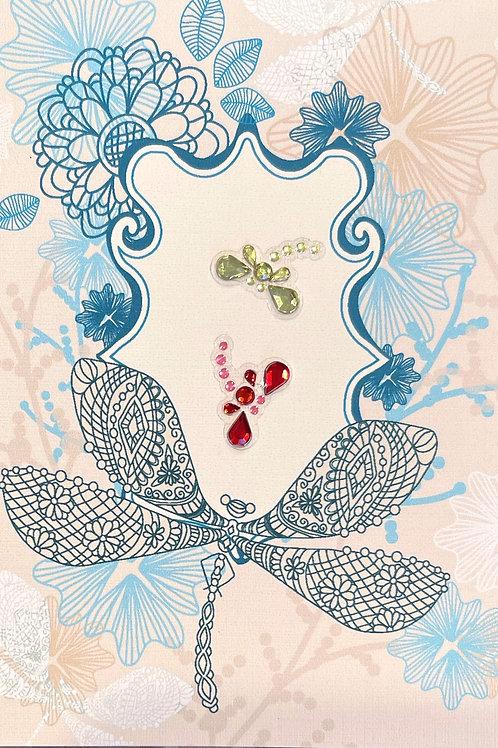 Dragonflies Note Card Set - NC179