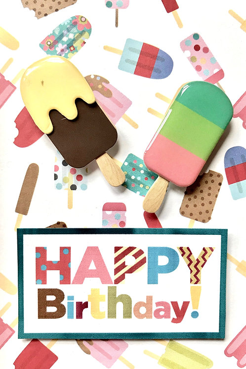 Birthday Ice Cream Note Cards - NC110