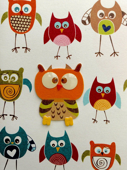 Owl Gift Card - 143A/10