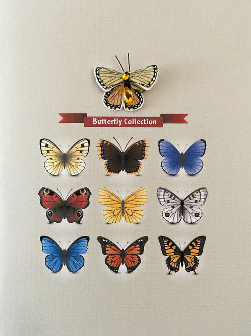 W-NC53 Butterfly Collection Note Card Set