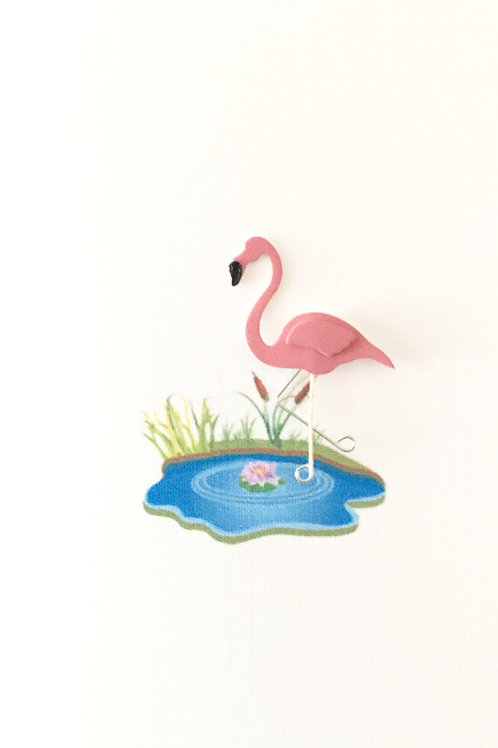 Flamingo Note Card Set-NC8
