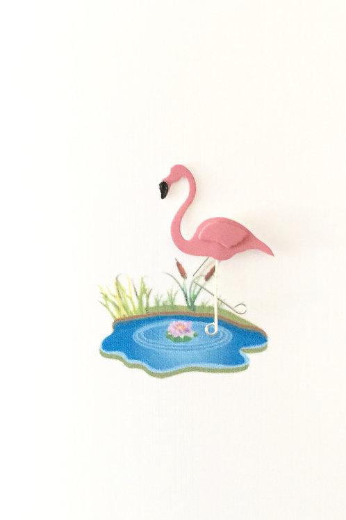 W-NC8 Flamingo Note Card Set