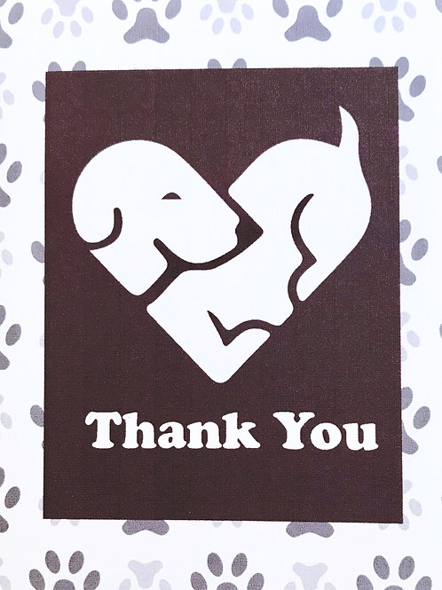 Thank You Dog Heart - A106