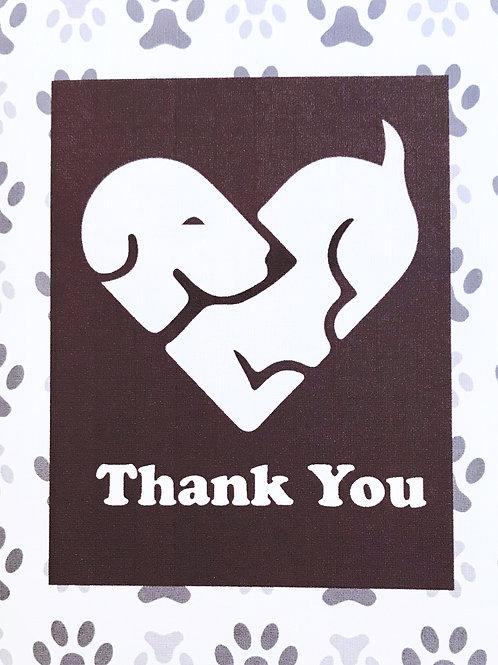 Thank You Dog Heart - A106