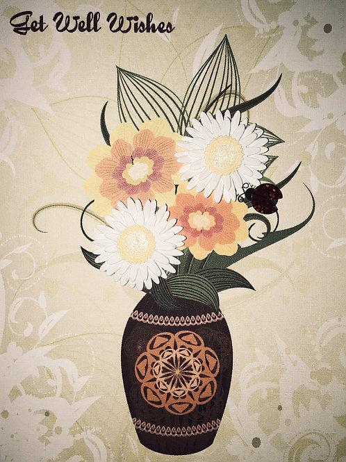Get Well Vase - 1399