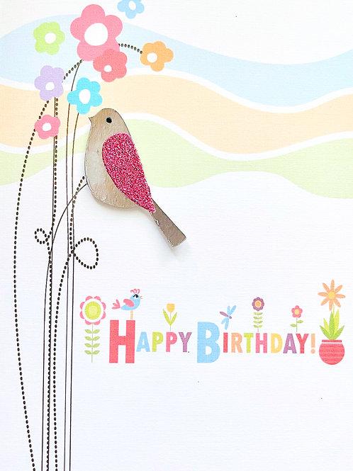 Birthday Bird - 1373