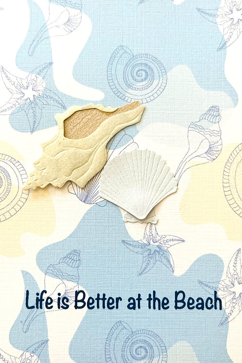 Better At Beach Note Card Set - NC192