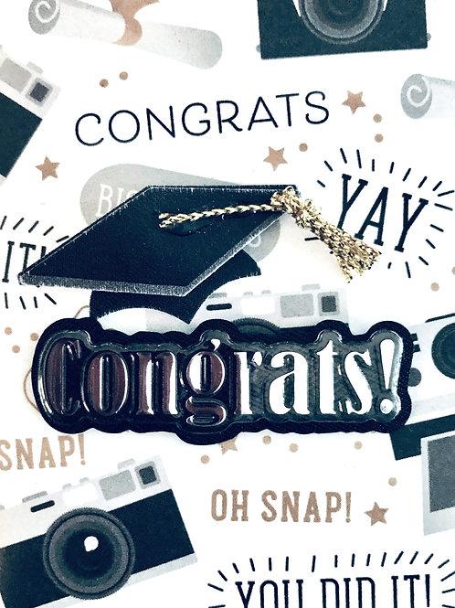 Congrats Cap Gift Card - 105A/6