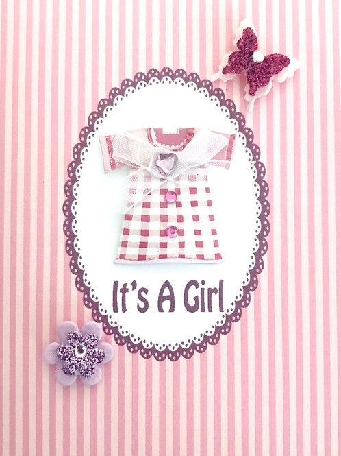 Baby Girl Dress Note Card Set - NC32