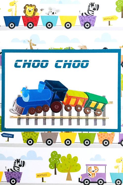 Choo Choo Note Card Set - NC169