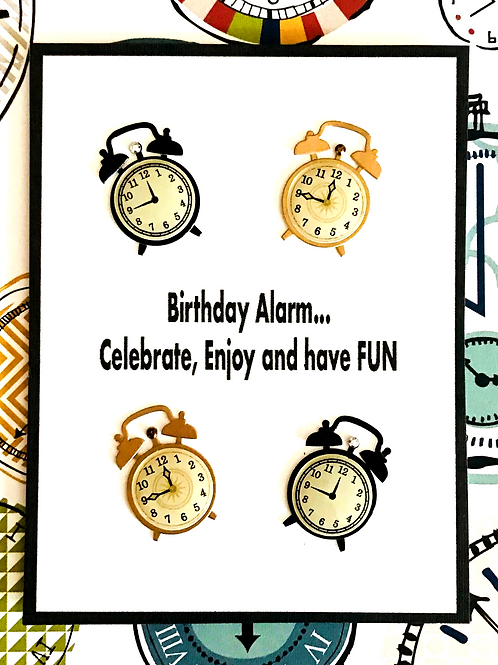 Birthday Time Note Cards - NC117