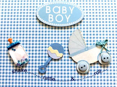Shake, Rattle Baby Boy - 1312