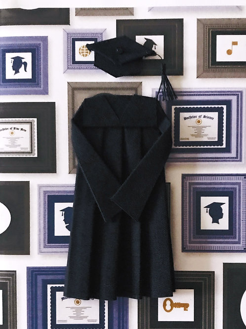 Cap and Gown -999