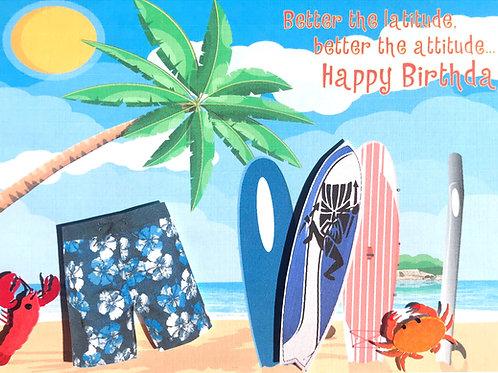 Birthday Attitude - 1232