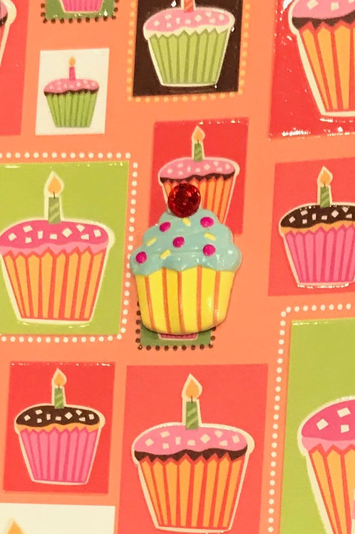 Cupcake Birthday Gift Card - 122A/34