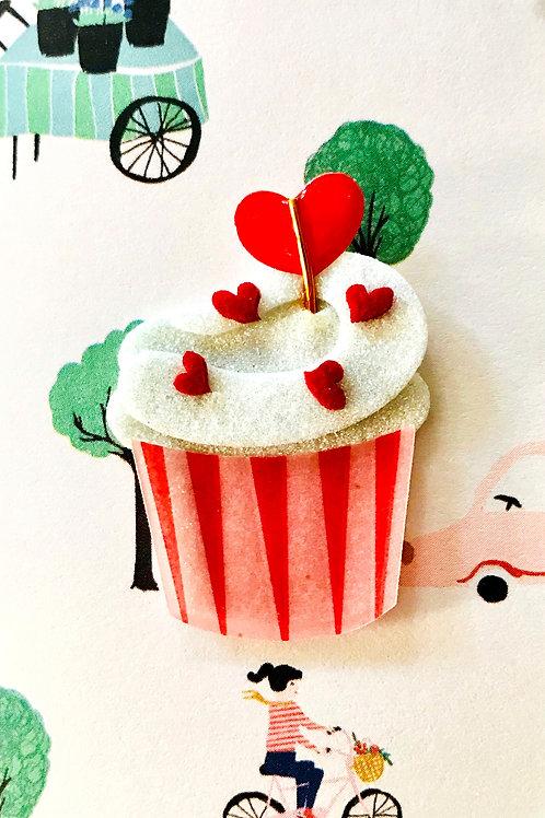 Valentine Cupcake 2 Gift Card - V112