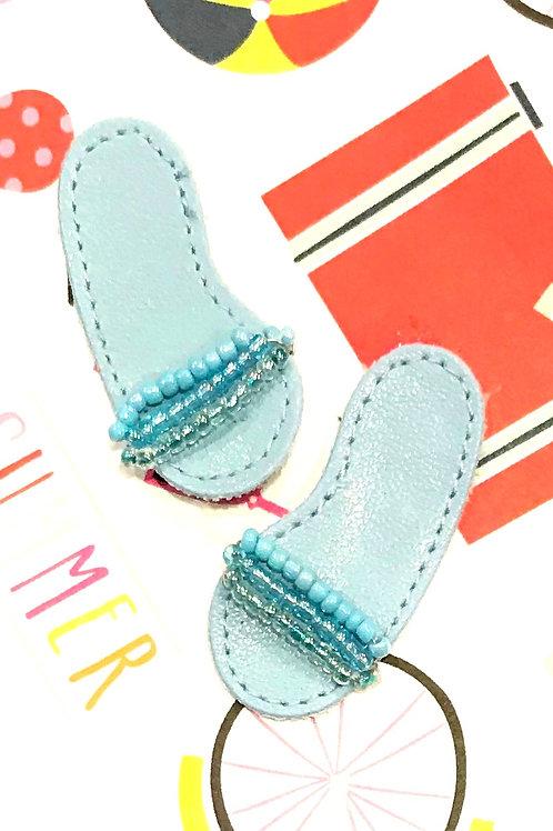 Leather Flip Flops-108A/13