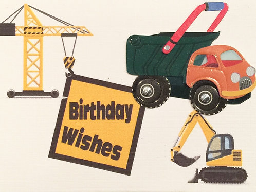 Construction Gift Card 122A/37