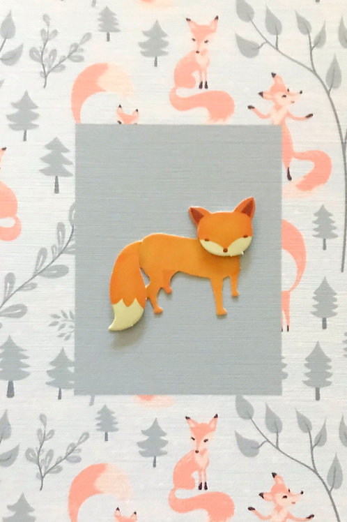 Foxes Note Cards - NC158