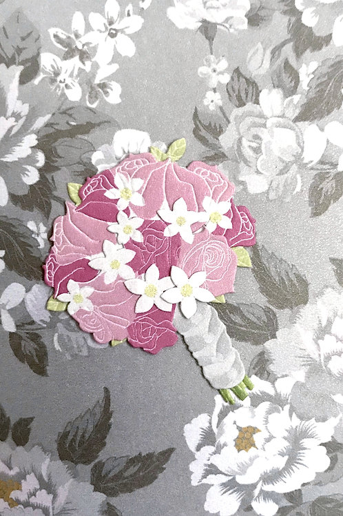 Bridal Bouquet Gift Card - 101A/12