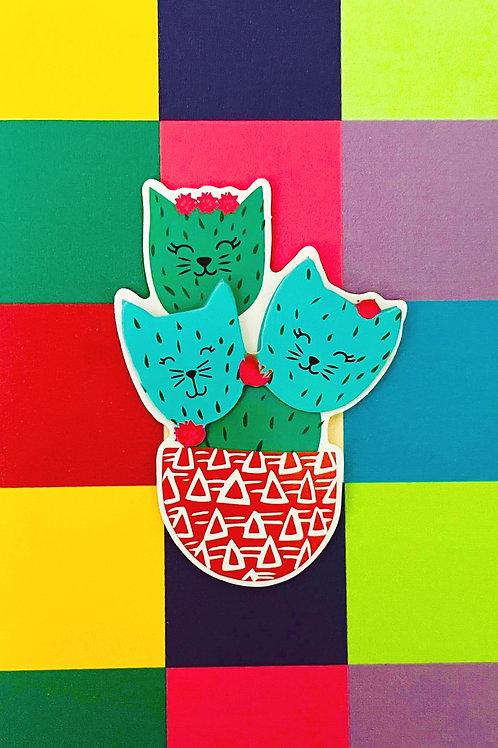Cat-tus Note Card Set - NC191