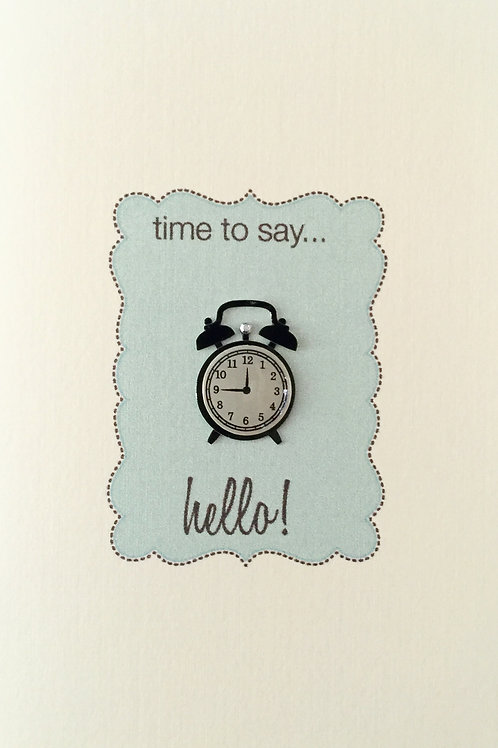 Time to Say Hello Asst Note Card Set-NC12
