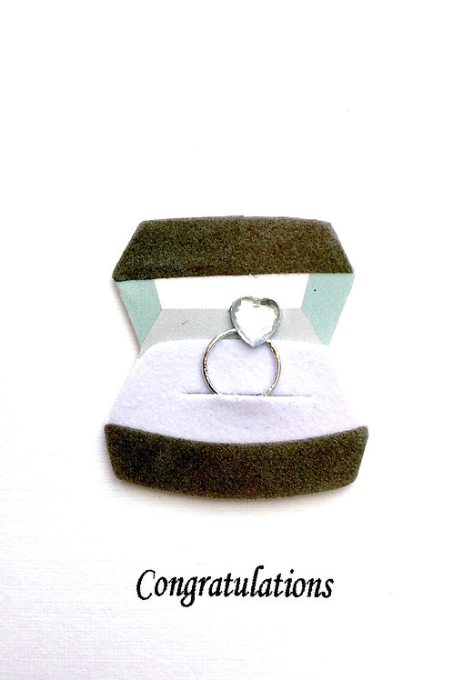 Engagement Ring Gift Card 101A/9