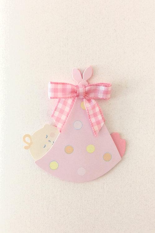 Baby Girl in Sling Gift Card 117G-4