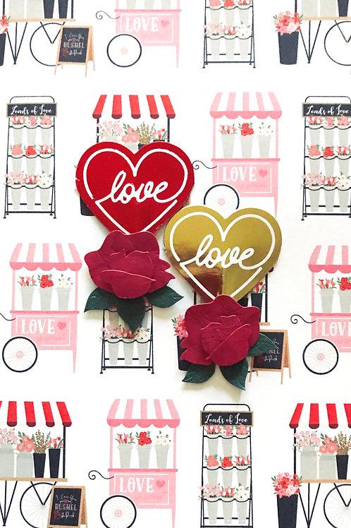 Valentines Love Love Greeting Card - 1442
