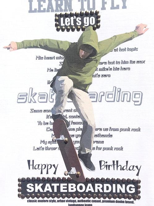 Birthday Skateboarding -1414