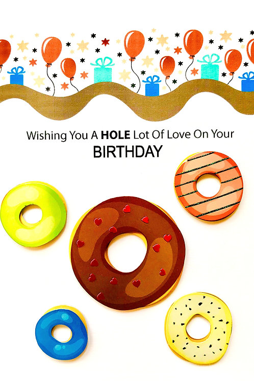 Birthday Donuts - 1420