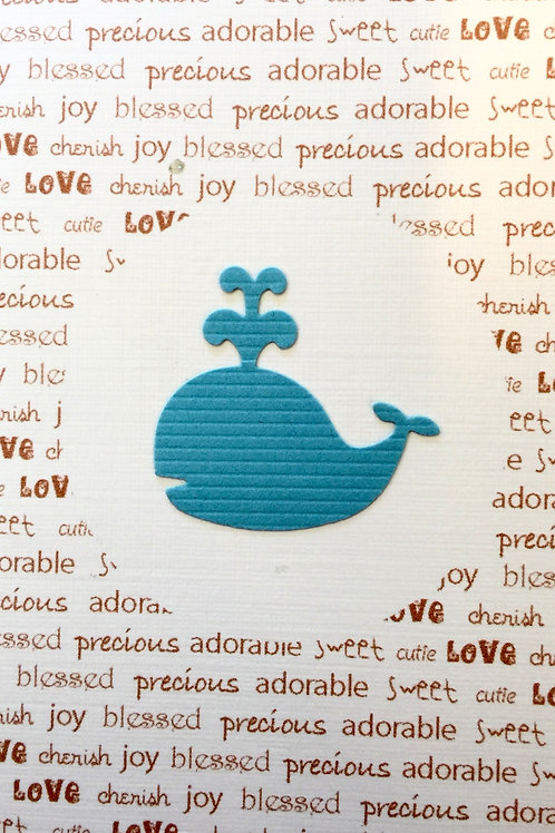Baby Whale Gift Card 116A-3