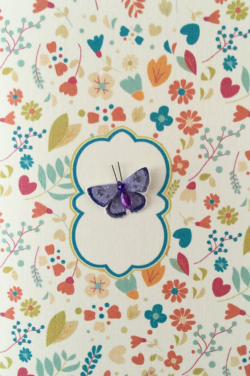 W-NC13 Butterfly Note Card Set