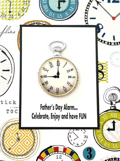 Father's Day Alarm Greeting Card - 1474