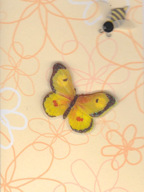 Butterfly Gift Card 143A/4