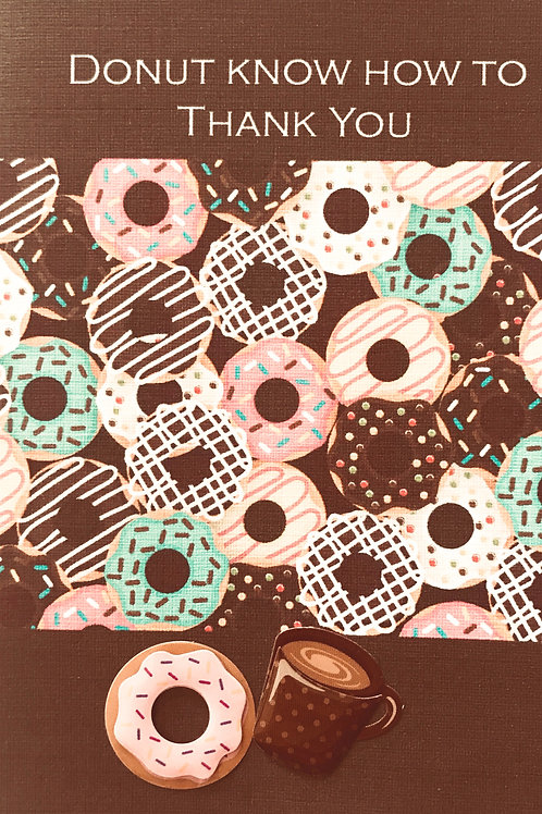 Thank You Donut Note Cards - NC125
