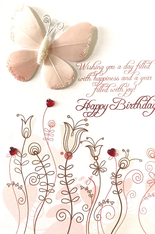 Birthday Butterfly - 1385