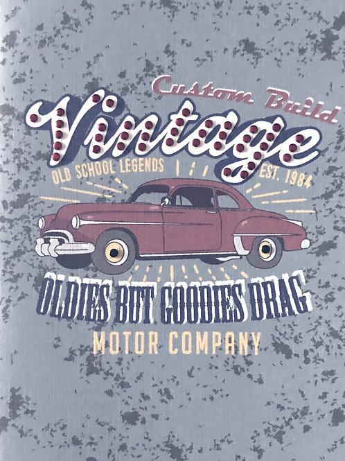 Blank Vintage Car Greeting Card - 1346