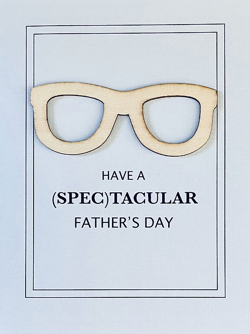 Father's Day Spec Greeting Card - 1470