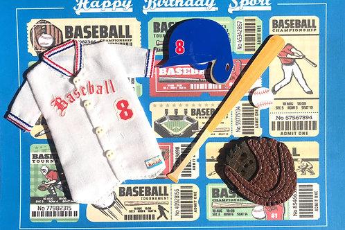 Birthday Baseball Sport - 1305