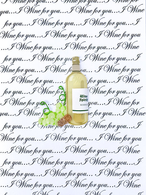 I Wine For You Note Cards - NC153