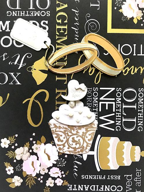 Wedding Rings and Cupcake-1244