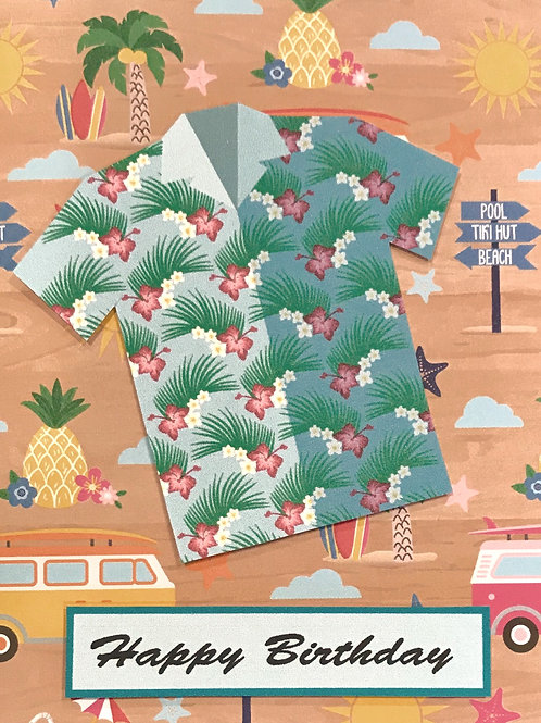 Tropical Shirt - 1278