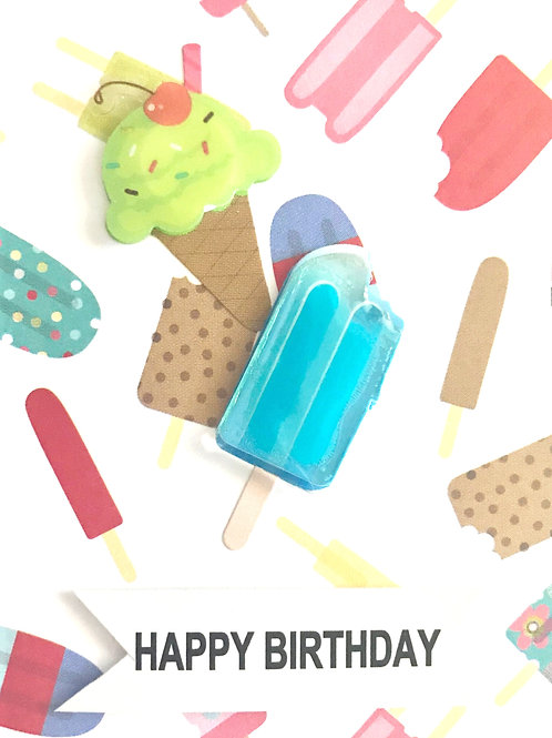 Ices and Ice Cream Gift Card - 122A/40