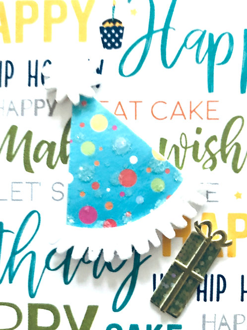 Party Hats Gift Card - 122A/8