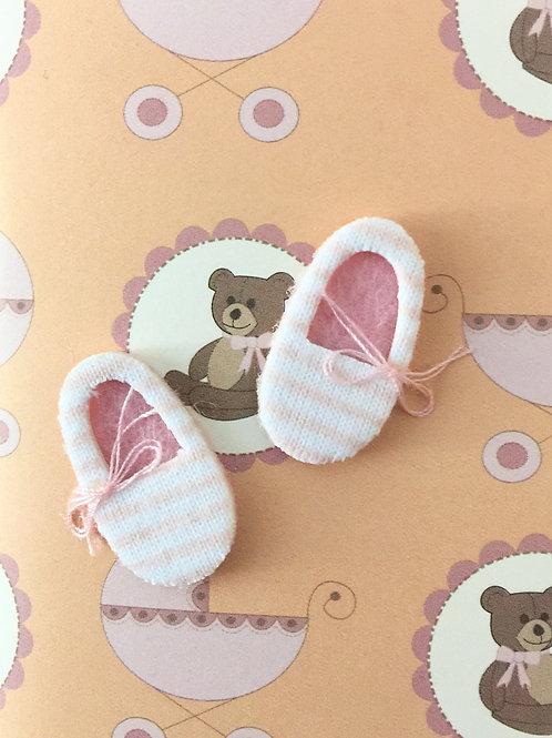 Baby Girl Slippers Gift Card 117G-3